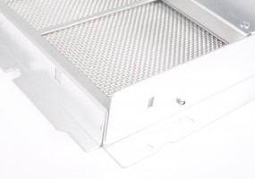 1.5 mm Aluminium Fan outlet & filter box chassis