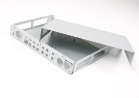 1.5mm aluminium Pro Audio electronics chassis