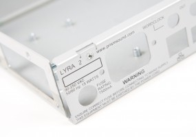 1.5mm aluminium Pro Audio electronics chassis