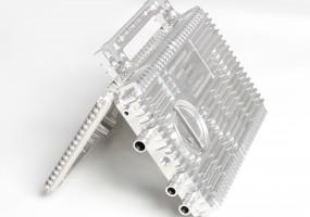 CNC Machined Aluminium Electronic Enclosure (dims. 240x160x30mm)