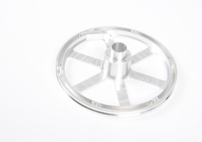 CNC Machined Carousel Wheel (dims. outside dia - 255mm)