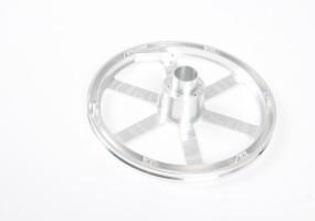 CNC Machined Carousel Wheel (dims. outside dia - 255mm)