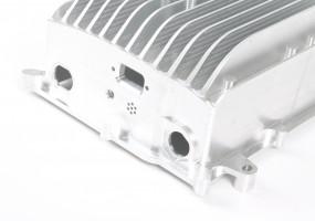 CNC Machined Electronic Heatsink Housing - close up (dims. 250x210x100mm)