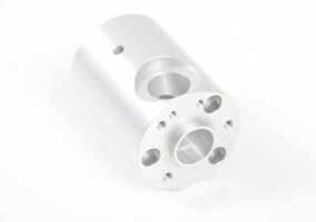CNC Small Turned Component (dims. dia - 60mm)