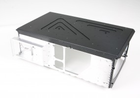 Cinema projector chassis ruggedized for the retail market - various thickness aluminium
