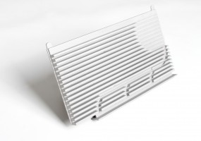 Fibre Optic Heatsink (dims. 295x170x20mm)