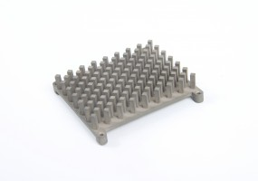 Intricate Silicon Brass Heatsink