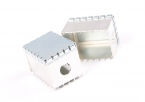 RF screening can 0.8mm mild steel - plated