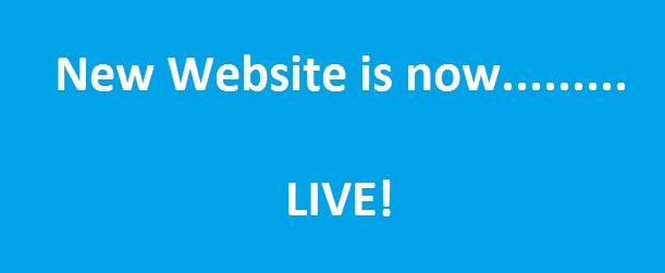 Website Goes Live